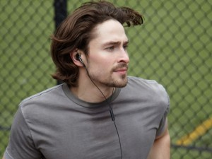 Sportler mit JABRA Active