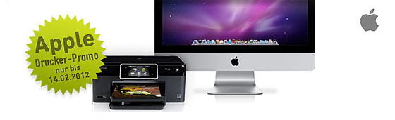 Apple Drucker Promo